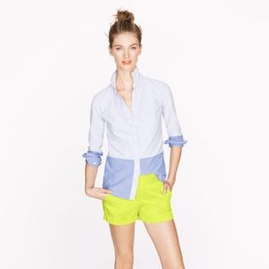 "J.Crew Citrus Lime Green 3"" Chino Shorts Spring 13"